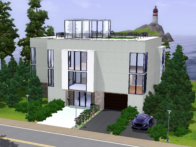 Moderne häuser erstellen in sims 3 pictures to pin on pinterest